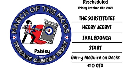 March Of The Mods Paisley tickets