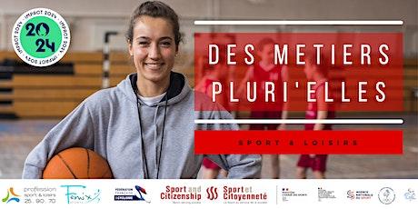 """Conférence """"Des Métiers Pluri'Elles"""" -  région Bourgogne Franche-Comté billets"""