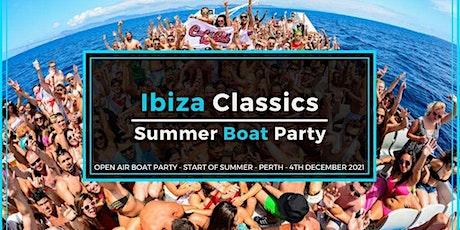 IBIZA CLASSICS SUMMER BOAT PARTY tickets