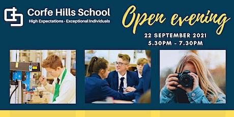 Corfe Hills School Open Evening 2021 tickets