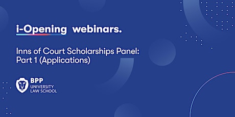 Inns of Court Scholarships Panel: Part 1 (Applications) tickets