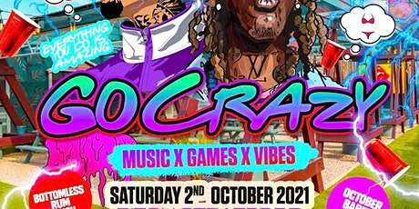 Go Crazy - Music x Games x Vibes tickets