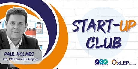OxLEP's Start Up Club - Business Planning for Growth tickets