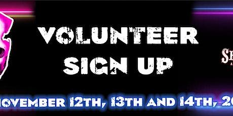 Volunteer Registration November 2021 - New Jersey Horror Con tickets
