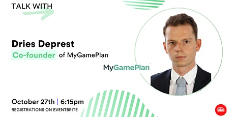 Le Wagon Tech Talk with Dries Deprest, co-founder of MyGamePlan tickets