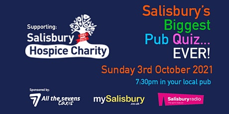 Salisbury's Biggest Pub Quiz... Ever tickets