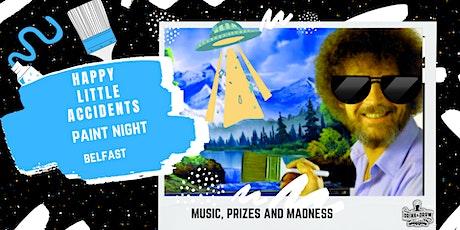 Happy Little Accidents Paint Night (Drink & Draw / Alternative Belfast) tickets
