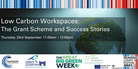 Low Carbon Workspaces: The Grant Scheme and Success Stories tickets