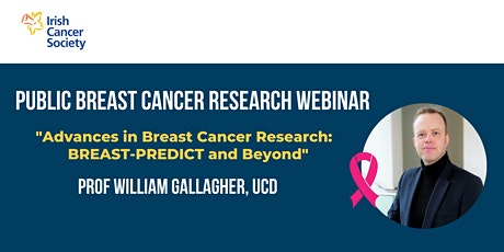 WEBINAR: Advances in Breast Cancer Research: BREAST-PREDICT and Beyond tickets
