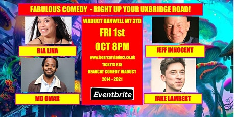 Bearcat Comedy at the Viaduct Hanwell tickets