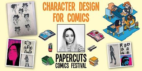 Workshop: Character design for comics (Papercuts Comics Festival) tickets