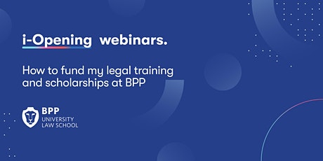 How to fund my legal training and scholarships at BPP tickets