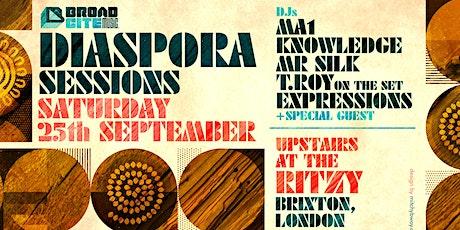 DIASPORA SESSIONS - Summer closing party!! tickets