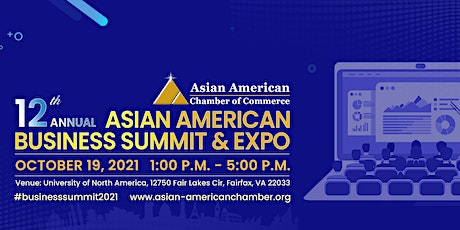 12th Annual Asian American Business Summit & Expo tickets