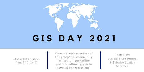 GIS Day | Online GIS Networking | Geospatial Networking tickets