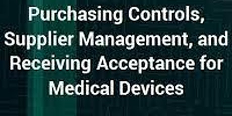 Purchasing Controls, Supplier Management, and Receiving Acceptance for MD biglietti