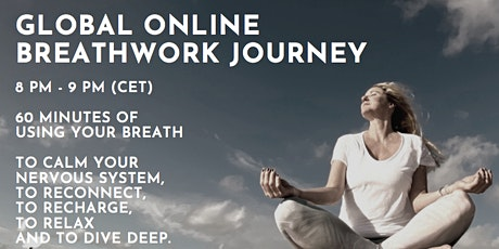 global online group BREATHWORK JOURNEY tickets