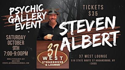 Steve Albert: Psychic Gallery Event - 37 West Lounge tickets