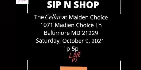 SIP N SHOP PART 3 tickets