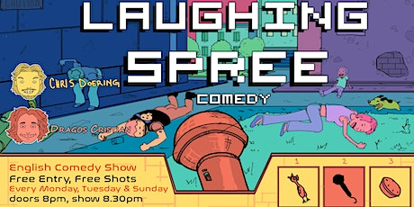 Laughing Spree: English Comedy on a BOAT (FREE SHOTS) 06.12. tickets