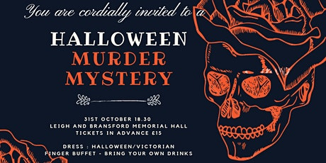 Double Double Toil and Trouble : A Halloween Murder Mystery Evening tickets