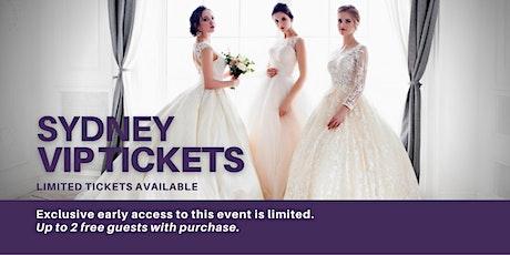 Sydney Pop Up Wedding Dress Sale VIP Early Access tickets