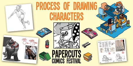 Workshop: The process of drawing characters (Papercuts Comics Festival) tickets