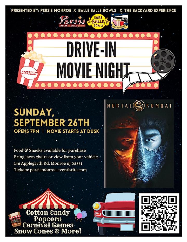 Drive In Movie Night ft. Mortal Kombat image
