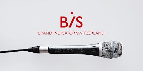 Brand Indicator Switzerland 2021 Launch Event billets
