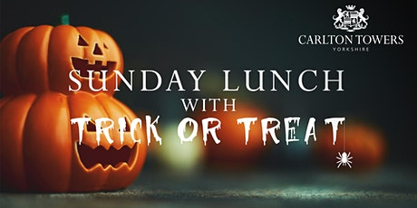 Sunday Lunch Trick or Treat tickets