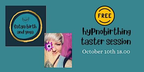 Hypnobirthing Taster tickets