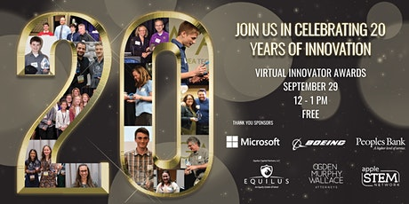 20th Innovator Awards - Virtual tickets