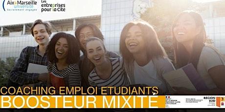 Boosteur Emploi Mixité Marseille billets