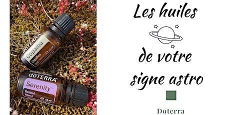 Les huiles essentielles de votre signe astro billets