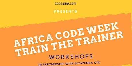 Africa Code Week Train the Trainer Workshop tickets