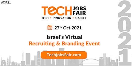 Israel's Virtual Hiring & Branding Event tickets