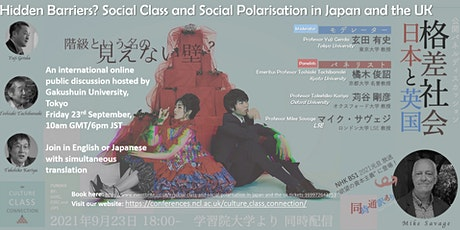 Social Class and Social Polarisation in Japan and the UK tickets