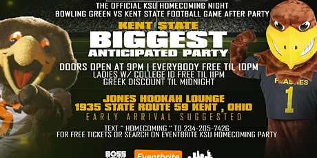KSU OFFICIAL HOMECOMING AFTERPARTY tickets