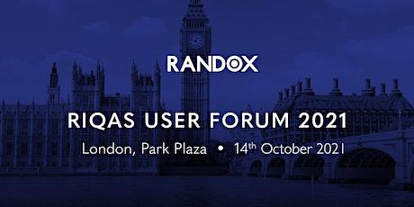 RIQAS User Forum 2021 - London tickets