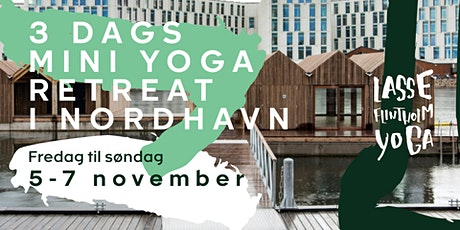 3 dags mini yoga retreat i Nordhavn tickets