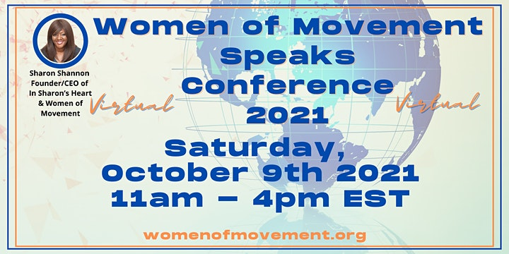 FREE Virtual  Women of Movement Speaks Conference image