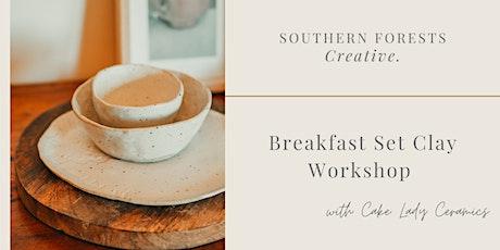 Breakfast Set Ceramic Workshop tickets