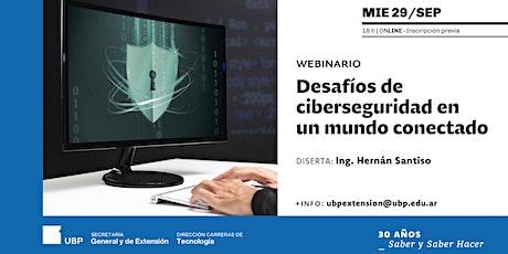 Desafíos de ciberseguridad en un mundo conectado entradas