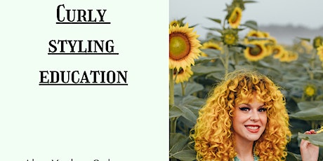 Curly styling education tickets