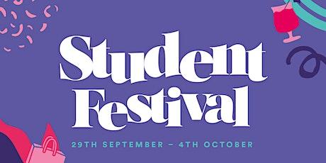 London Designer Outlet Student Festival tickets