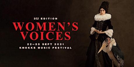 "Festival ""Women's Voices"" Knokke Music Festival tickets"