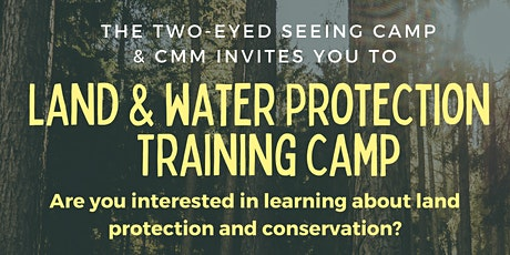 Land and Water Protection Training Camp tickets