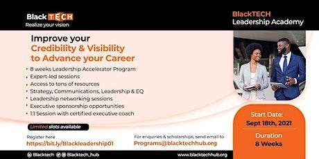 BlackTECH Leadership Accelerator Program (BLAP). tickets