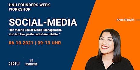 Workshop: Social Media tickets