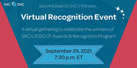 SAC's Virtual Recognition Event tickets